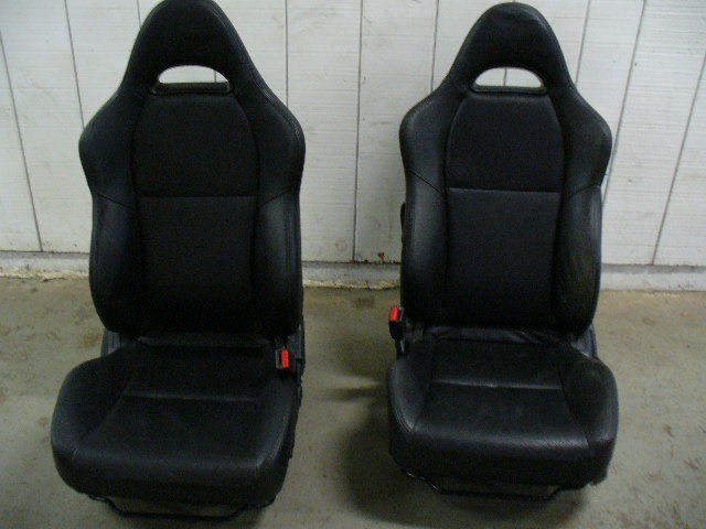 2002 Acura RSX Type S OEM Black Leather Seats | Lipperini RaceLabz